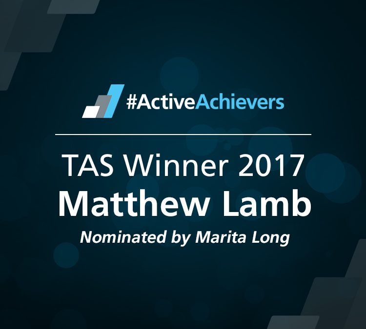 So, Im the 2017 Fitness Trainer of the Year!